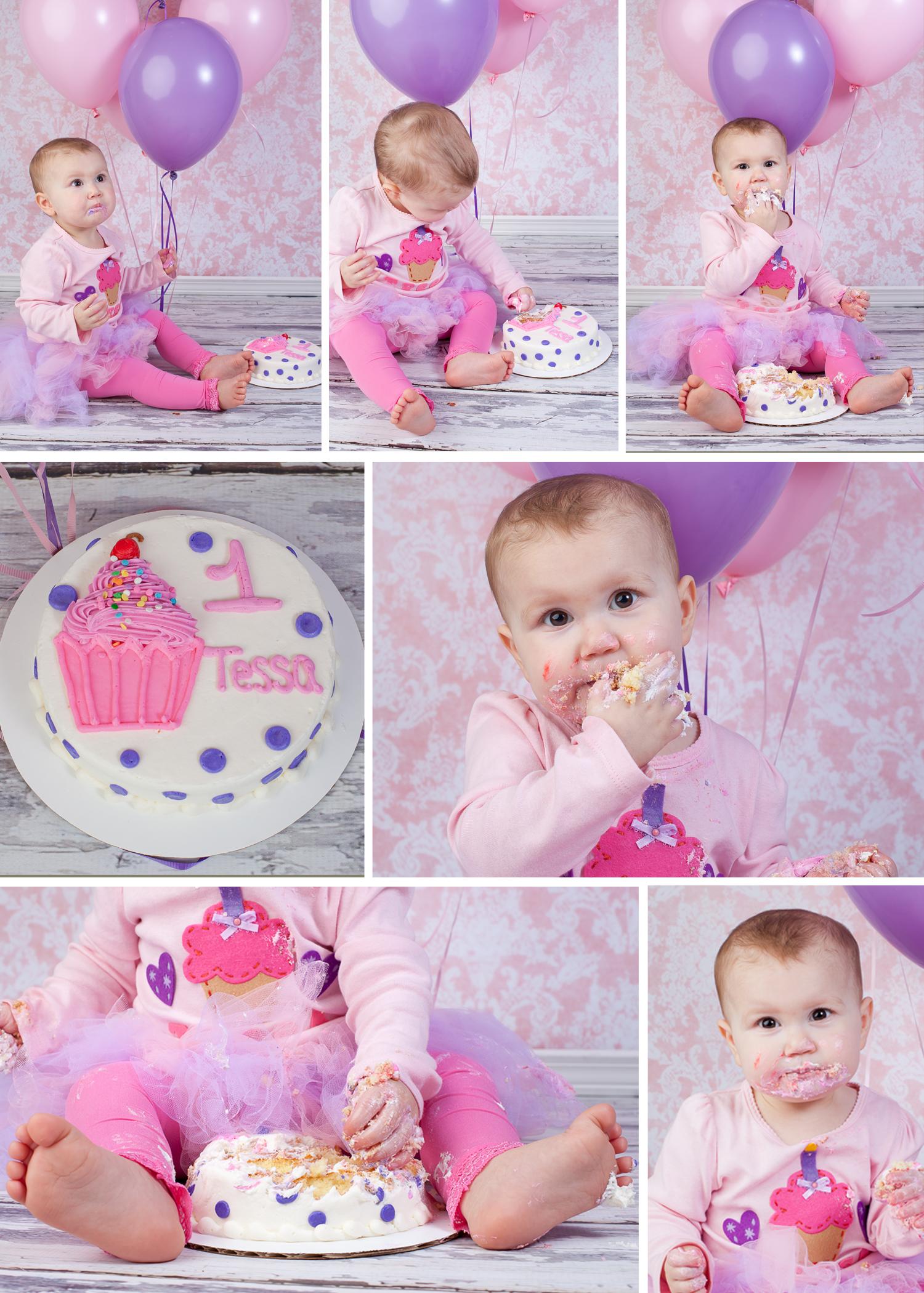 Happy 1st Birthday Sweet Baby Tessa! ~ Virginia Beach Photographer Rainbow Rose Drawing